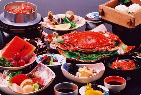 写真:たいら蟹(ガネ)料理